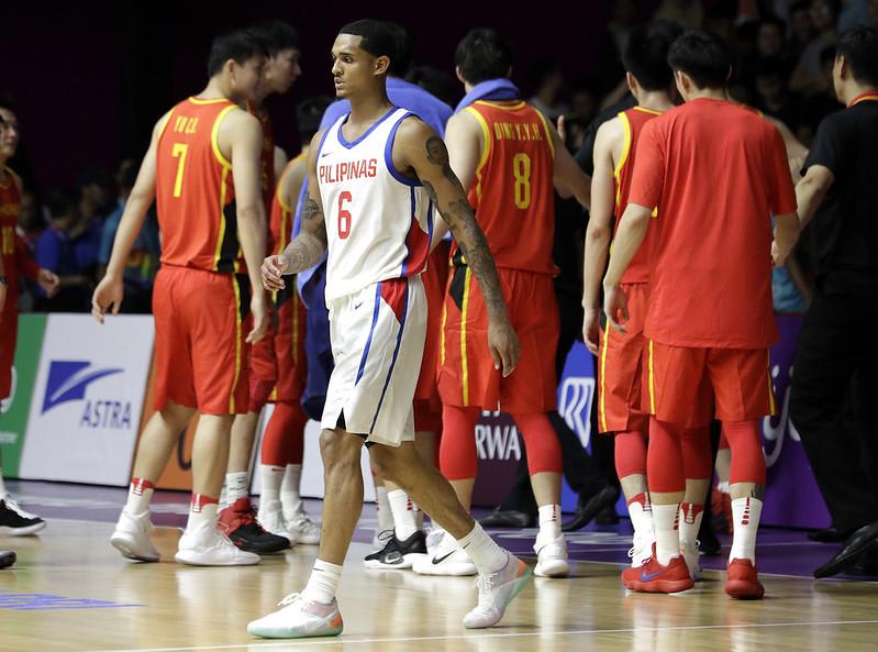 Jordan Clarkson菲律賓首秀不敵中國。(達志影像)