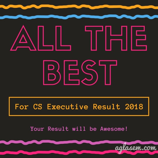ICSI to Announce CS Executive Result 2018 at 2:00 PM; Know How to Check Here