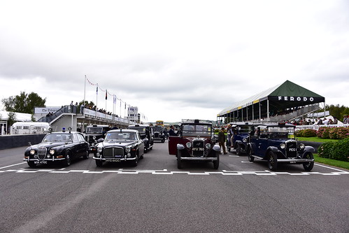 British Transport Parade, Goodwood Revival 2018