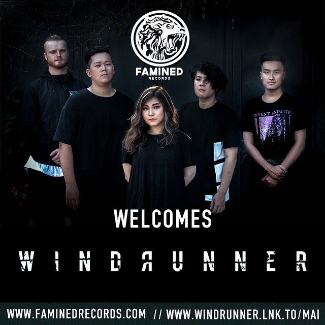 Windrunner ký hợp đồng với hãng đĩa Famined Records
