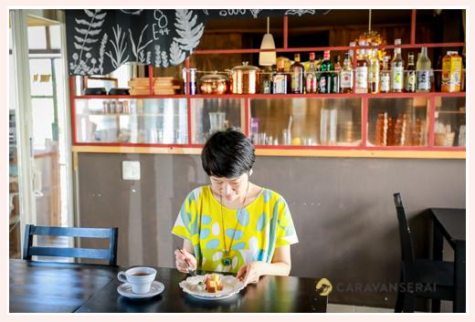 黒猫とほうき@Tane Cafe(愛知県瀬戸市のカフェ)に訪れた女子客