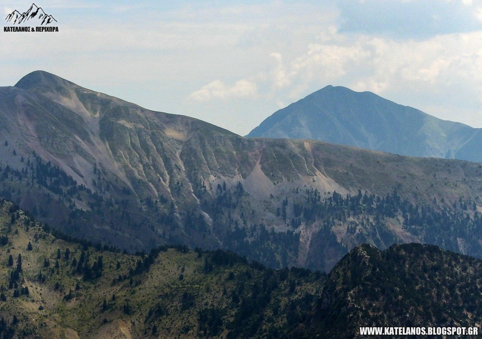 βουνοκορφες χελιδονα και καλιακουδα βουνα ευρυτανιας