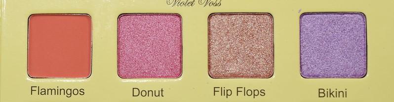 Violet Voss Flamingo Donut Flip Flops Bikini