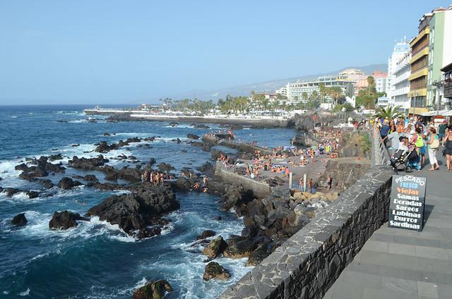 Prom, Puerto de la Cruz, Tenerife