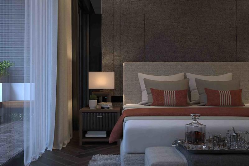 Giường ngủ đẹp Malibu Hội An