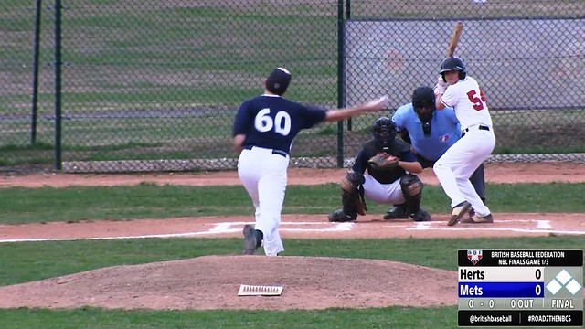 WATCH: Herts Falcons vs London Mets – NBL Final (Game One)