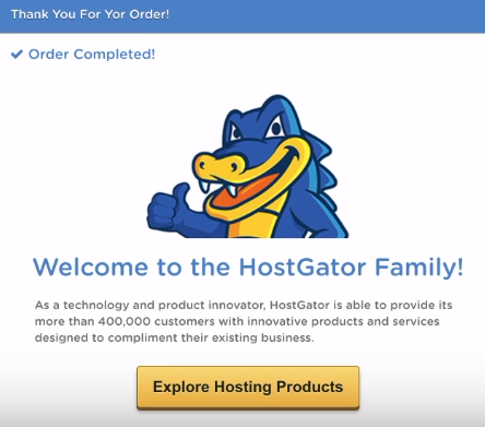 Start a Blog HostGator
