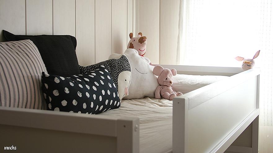 habitación para niños con litera Ikea