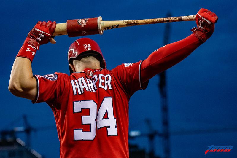 Bryce Harper。(資料照。駐美特派王啟恩/華盛頓攝)
