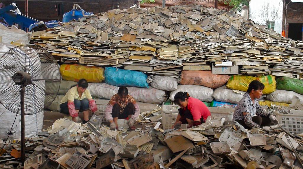 中國的回收業者
