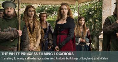 Where is the white princess filmed