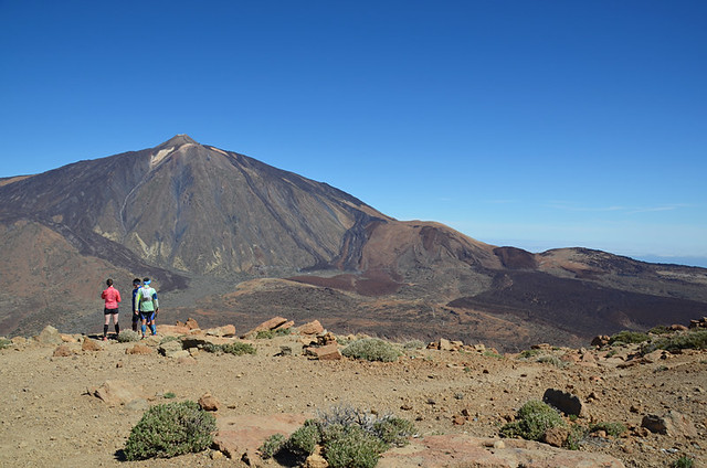 Mount Teide from Guajara,Tenerife, Canary Islands