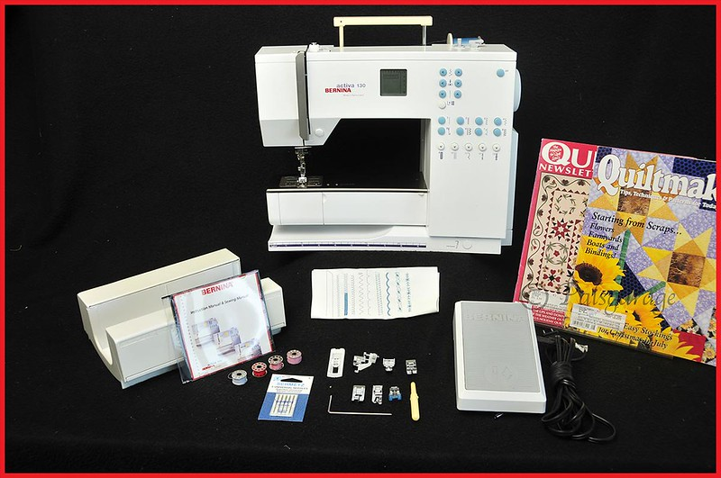 BERNINA ACTIVA 40 SEWING MACHINEACCESSORIESEXCELLENT CONDITION Fascinating Bernina Activa 130 Sewing Machine
