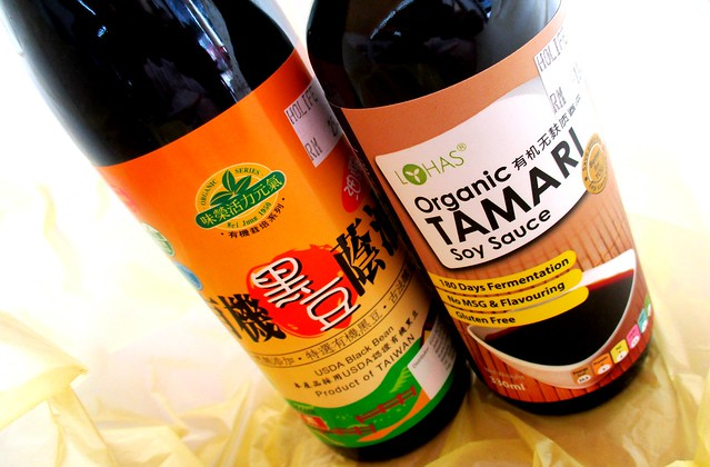 Gluten-free soy sauces