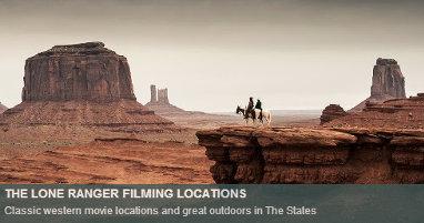 Where was Lone Ranger filmed