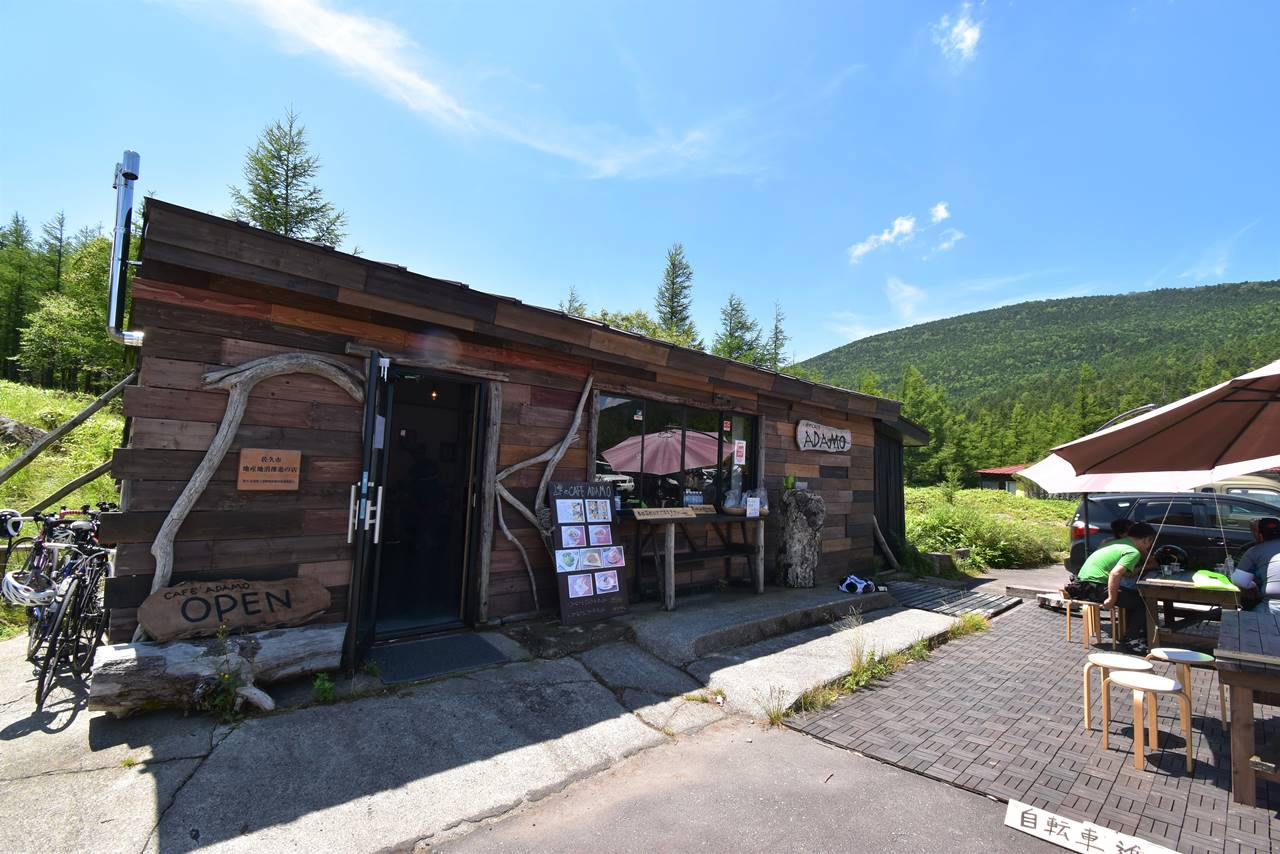 大河原峠のカフェ