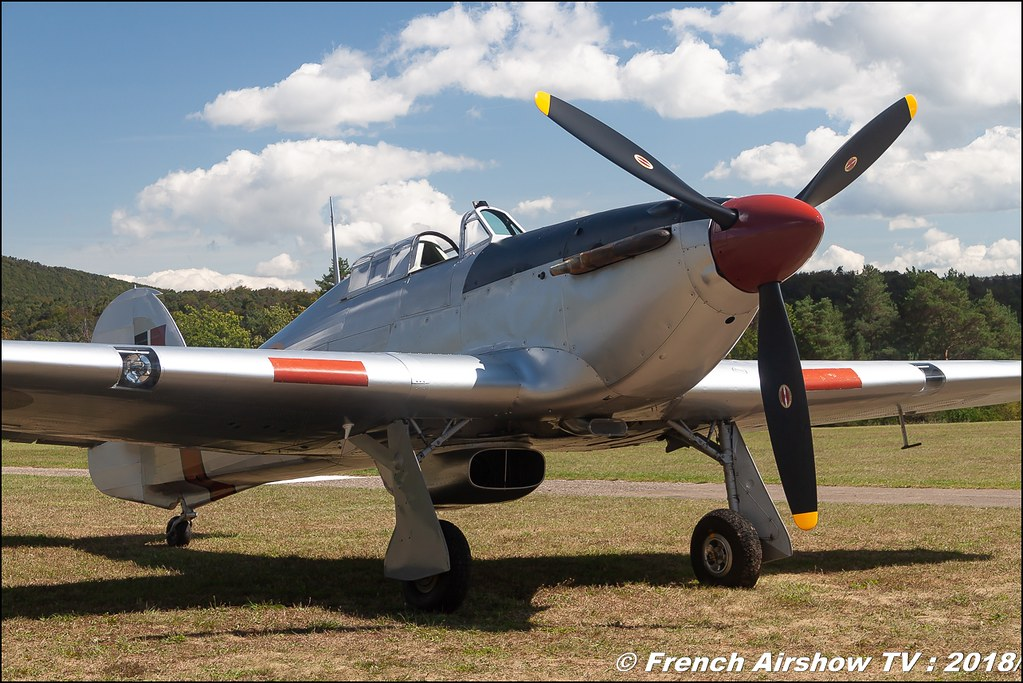 Hawker Hurricane AG244 Dittinger Flugtage 2018 Canon Sigma France contemporary lens Meeting Aerien 2018