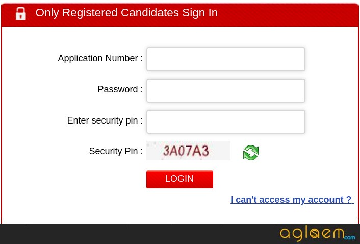 JEE Main 2019 Login for Result