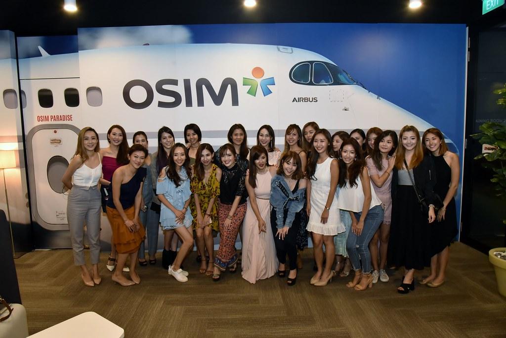 Getting ready to board OSIM Airlines! (Credit: OSIM)