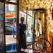Marseilles- junk shop in the Noailles district