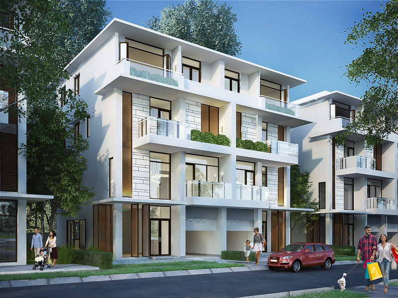 Biệt thự song lập Villa Park Passion R7