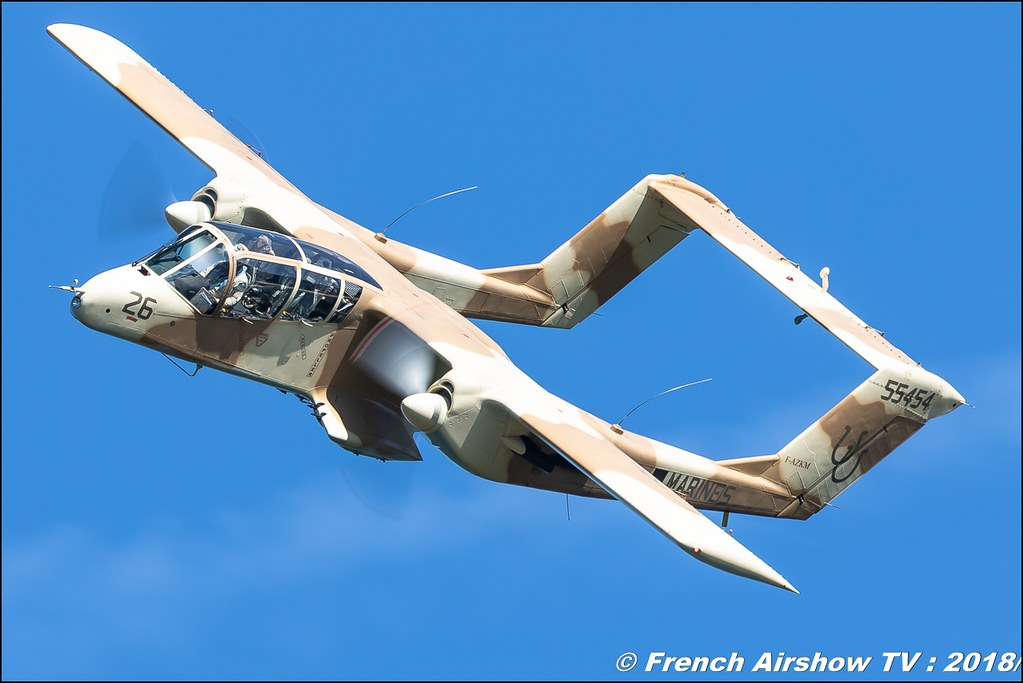 Bronco OV-10 - Musée Européen de l'Aviation de Chasse Dittinger Flugtage 2018 Canon Sigma France contemporary lens Meeting Aerien 2018