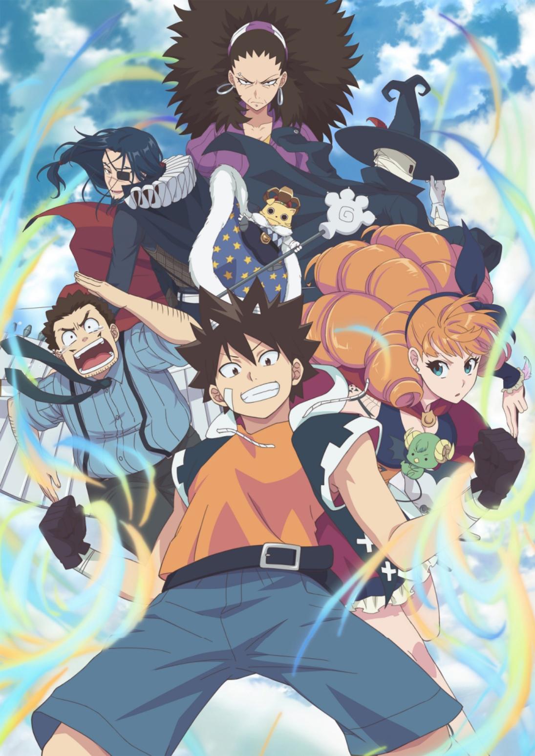 180901 – 豪華聲優公開!『蒼藍鋼鐵戰艦』團隊打造法國漫畫《RADIANT》為NHK動畫版、敲定10/6首播!