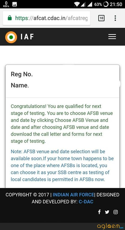AFCAT 2 2018 Result(Announced)  Check Here, AFCAT Marks, Cut Off
