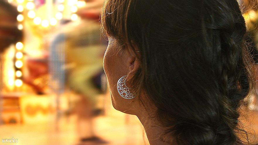 bloguera Núria Mamirrachadas en la feria de Valencia