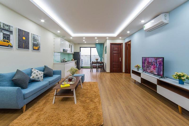 Căn hộ gồm: 1 phòng ngủ, 1 phòng vệ sinh khép kín.