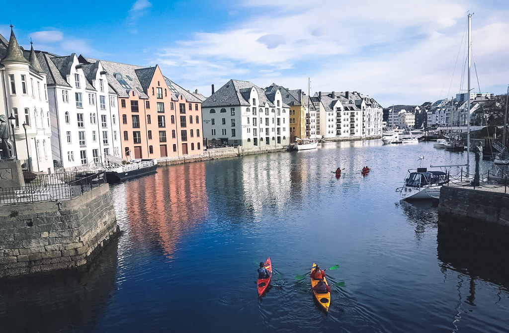 Ålesund, Noorwegen | It's Travel O'Clock