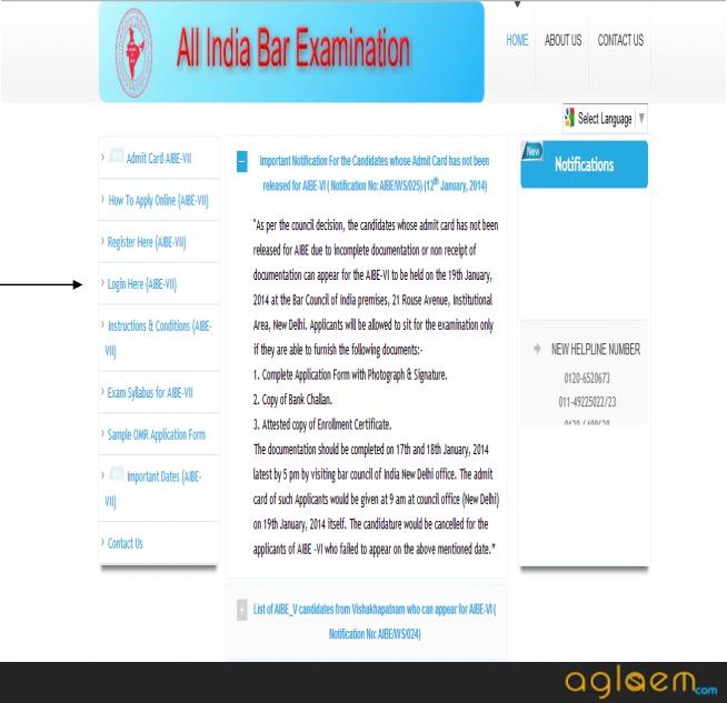 AIBE Registration 2019