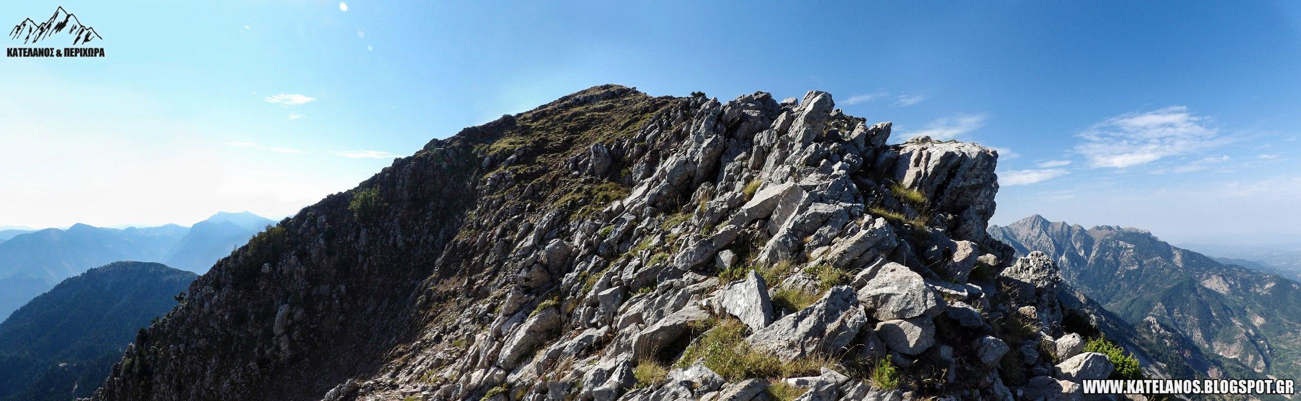 βουνοκορφη τσοκα παναιτωλικο ορος αναβαση