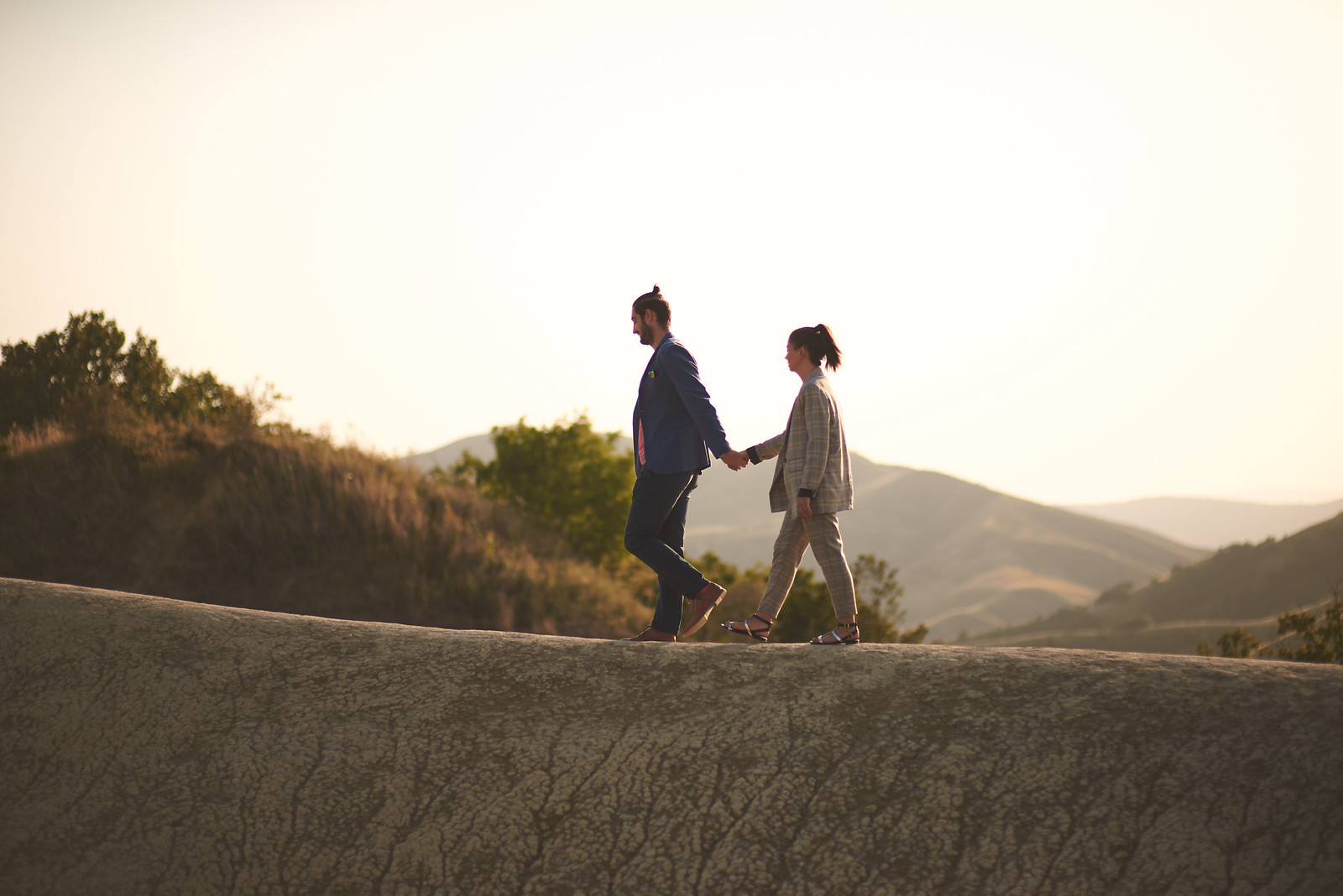 Mud Volcanoes Couple Photo Sessesion
