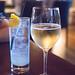 My glass of Aphros 'Phaunus' Pet Nat, Loureiro, Vinho Verde, PT 2016 and Jackfruit soda
