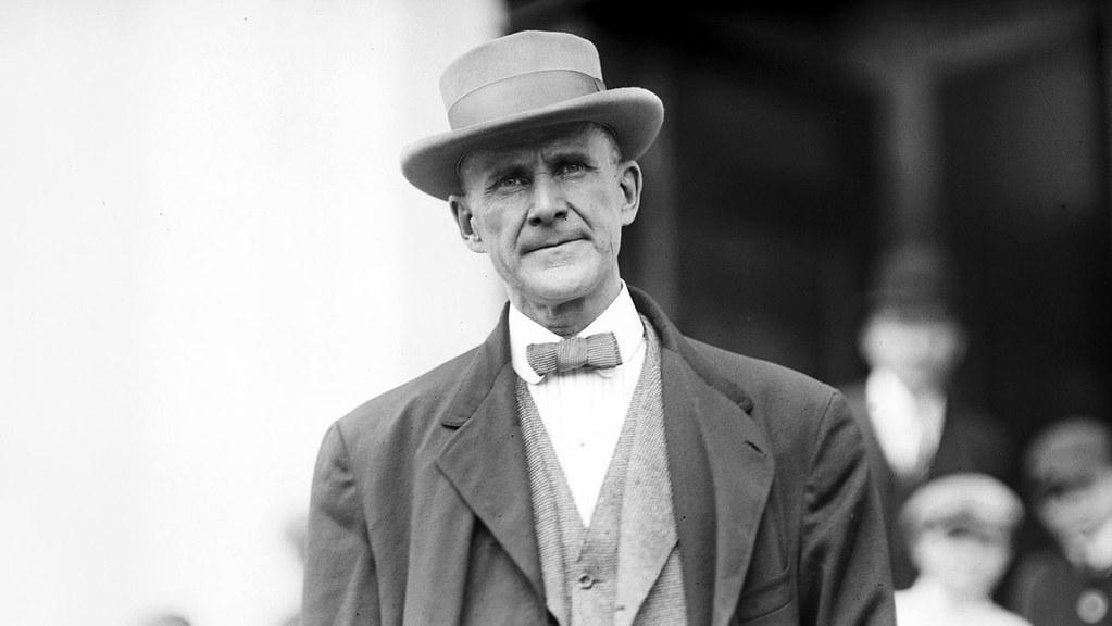 六度代表美國社會主義黨競選總統的諾曼・湯馬斯。(圖片來源:Indiana State University Library archives/First Run features)