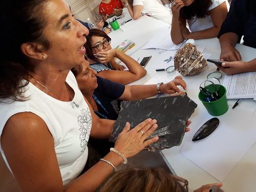 Chiara Sorbini avvia il lavoro di gruppo
