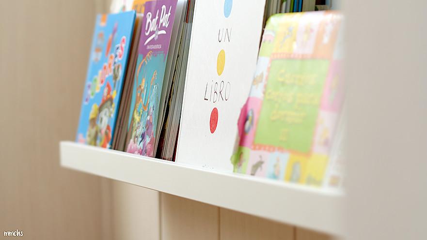 librería Montessori habitación infantil