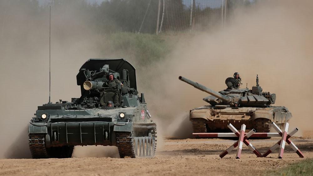 俄羅斯將於本(9)月11至15日舉辦「東方2018」軍演。(圖片來源:Maxim Shemetov/Reuters)