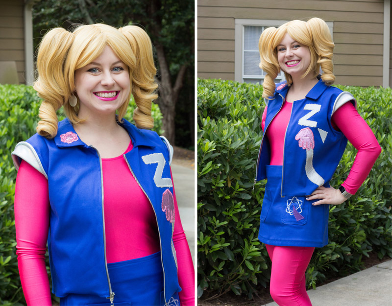 Zenon Girl of the 21st Century Cosplay for Dragon Con