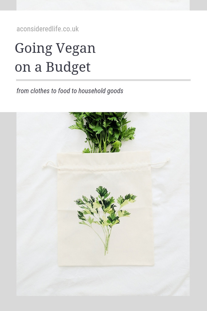Being Vegan on a Budget