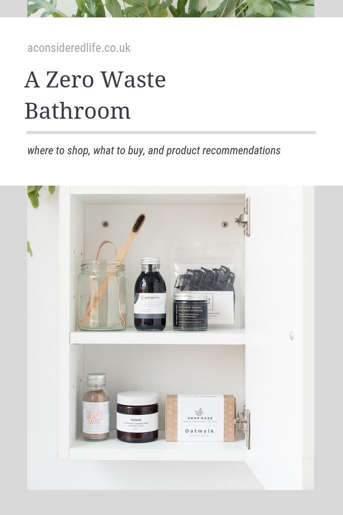 A Low Waste Bathroom