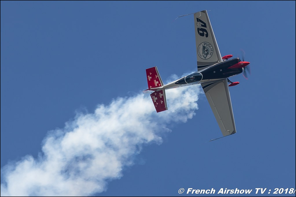 EXTRA 330SC - HB MTE 46 AVIATION SA Dittinger Flugtage 2018 Canon Sigma France contemporary lens Meeting Aerien 2018