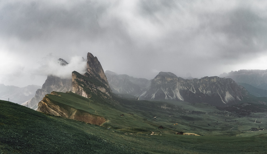 Тук почна да вали и мъглата се появява леко