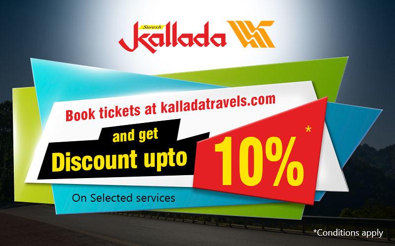 Kallada Travels-Responsive PopUp  Banner