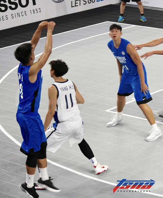 男籃3對3朱雲豪。(記者李心筠/攝)