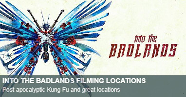 Where is into the badlands filmed