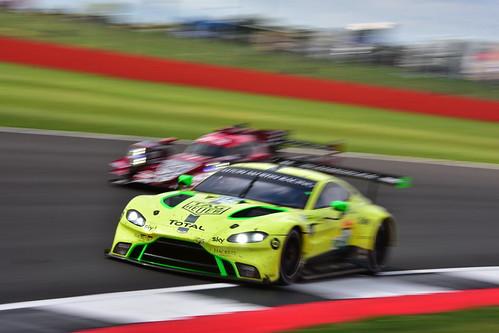Alexander Lynn - Maxime Martin, Aston Martin Vantage, FIA World Endurance Championship, Silverstone 2018