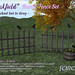 "For Syndicate Sunday | [CIRCA] - ""Oakfield"" - Rustic Fence Set - Wicked Set in Grey"