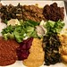 meat and veggie combo at House of Tadu Ethiopian Kitchen